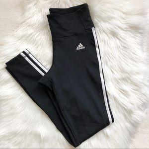Adidas High Waist Legging Full Length 3 Stripes